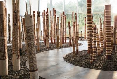 Ramingining artists - The Aboriginal Memorial 1987 - 88