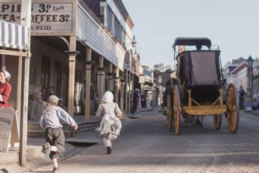 Sovereign Hill. Photo credit-Cultural Attractions of Australia
